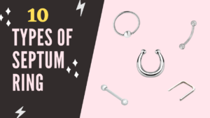 Types of Septum Ring